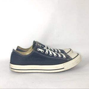 Converse All Star Navy Blue Low Top